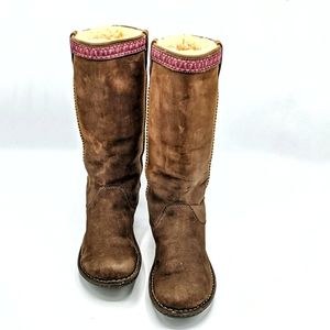 UGG boots lined nubuck size 8